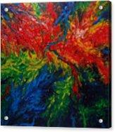 Primary Abstract II Acrylic Print