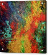 Primary Abstract 3 Acrylic Print