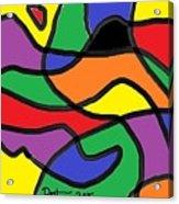 Primary Colors Acrylic Print