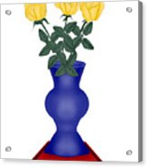 Primary Colors Acrylic Print