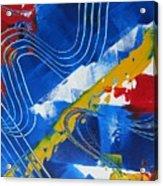 Primary Rhapsody One Acrylic Print