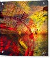 Primary Sunset Acrylic Print