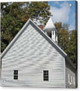 Primitive Baptist Church Est 1827 Acrylic Print