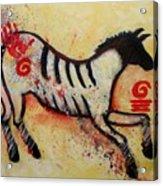 Primitive Little Horse Acrylic Print