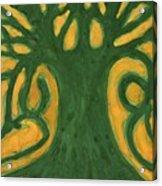 Primitive Tree Acrylic Print