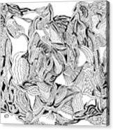Primordial Acrylic Print