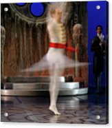 Prince Charming In Blurred Spin While Dancing In Ballet Jorgen P Acrylic Print