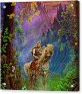 Prince Charming Acrylic Print