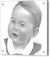Prince George Acrylic Print