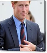 Prince Harry At A Public Appearance Acrylic Print
