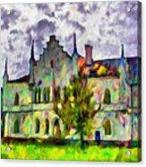 Princely Palace Acrylic Print
