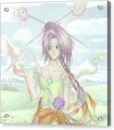 Princess Altiana Colour Acrylic Print