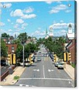 Princess Anne Avenue Fredericksburg Acrylic Print