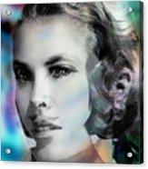Princess Claudia Vinci Acrylic Print