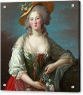 Princess Elisabeth Of France Acrylic Print