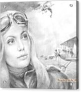 Princess Eugenie M Shakhovskaya Historic Czar Russia Featured By Angelina Jolie Acrylic Print