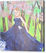 Princess In The Forest Acrylic Print
