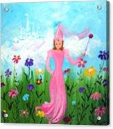 Princess Kennedy's Garden Acrylic Print