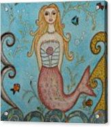 Princess Mermaid Acrylic Print