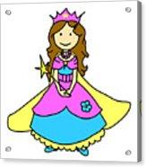 Princess Acrylic Print