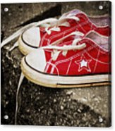 Princess Shoes Acrylic Print