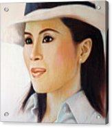 Princess Ubonrat Rachakanya Acrylic Print