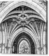 Princeton University Arched Walkway Acrylic Print