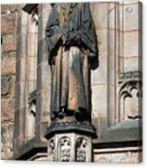 Princeton University J Witherspoon Statue  Acrylic Print