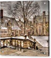Snow / Winter Princeton University Acrylic Print