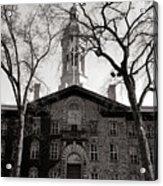 Princeton University Nassau Hall  Acrylic Print