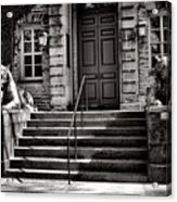 Princeton University Nassau Hall Tigers Acrylic Print