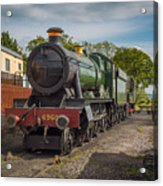 Print Of Gwr 6960 'raveningham Hall, Sits At Bishops Lydeard On  Acrylic Print