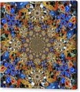 Prismatic Glasswork Acrylic Print