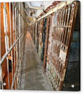 Prison Cells Acrylic Print