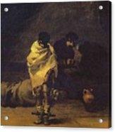 Prison Scene Francisco Jose De Goya Y Lucientes Acrylic Print