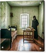 Prisoner In Jail Acrylic Print