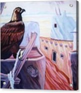Prisoner Of Tradition-day Of Hopi Eagle Sacrifice Acrylic Print