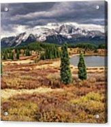 Pristine Mountain Lake Acrylic Print
