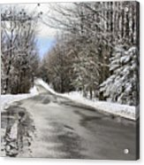 Private Country Road Acrylic Print