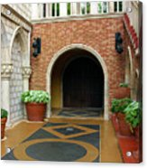 Private Entrance Acrylic Print