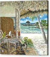 Private Island Acrylic Print