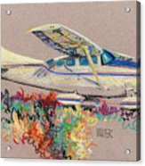 Private Plane Acrylic Print