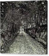 Private Road B Acrylic Print