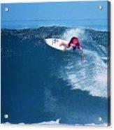 Pro Surfer Alex Ribeiro-6 Acrylic Print