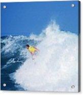 Pro Surfer Chris Ward - 2 Acrylic Print