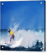 Pro Surfer Chris Ward Acrylic Print