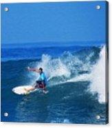 Pro Surfer Ezekiel Lau-1 Acrylic Print