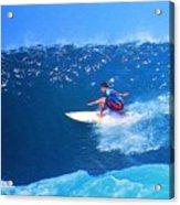 Pro Surfer Ezekiel Lau-3 Acrylic Print