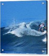 Pro Surfer Gabe King - 2 Acrylic Print