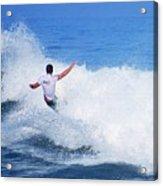 Pro Surfer Gabe King - 4 Acrylic Print